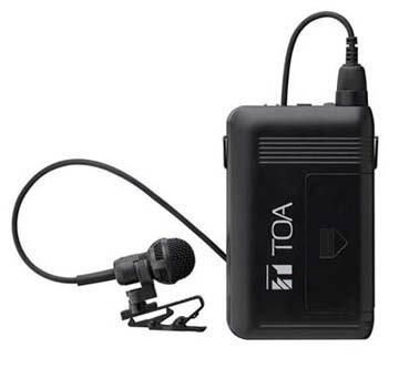 【あす楽対象】TOA(ティーオーエー・トーア) WM-1320 ワイヤレスマイク タイピン型 | 電池屋