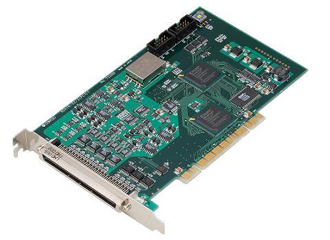 コンテックPCI対応 バスマスタ転送・多機能アナログ入出力ボードADA16-32/2(PCI)F