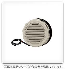日東工業 熱関連機器 屋内用換気扇付丸形ルーバーライトベージュ色 AC200V LP-0K-2