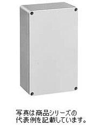 日東工業 PBEポリカボックスPBE9-1625G材質:ポリカーボネイト樹脂取付基板:鉄製基板(1.6MM)カバー:ねじ止め式