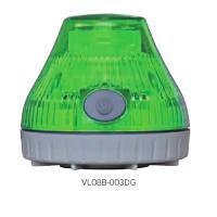 日恵製作所 電池式回転灯 ニコPOTφ80 (充電式)緑色 VL08B-003DG