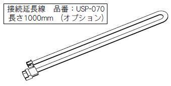oneA(ワンエー) ポカよけロールシャッター接続延長線 USP-070