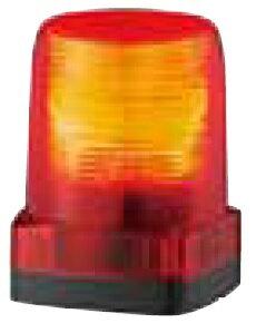 パトライト LEDフラッシュ表示灯定格電圧:DC24V 点滅回数:110回/分(トリプルフラッシュ)発光色:赤色 LFH-24-R