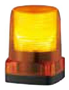 パトライト LEDフラッシュ表示灯定格電圧:DC48V 点滅回数:140回/分(トリプルフラッシュ)発光色:黄色 LFH-48S-Y