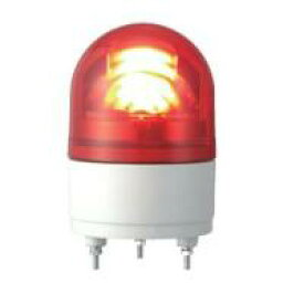パトライト LED回転灯(ブザー付)■型式:RHEB-24UL-R■定格電圧:DC24V■色:R(赤)■電流:0.19A■突入電流:5.0A/4msec■閃光数:120回/分■質量:0.4kg