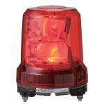 パトライト 強耐震大型LED回転灯■型式:RLR-M1-P-R■定格電圧:DC12/24V(兼用)■色:R(赤)■消費電力:7.6W■閃光数:105回/分■質量:1.0kg
