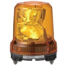 パトライト 強耐震大型LED回転灯■型式:RLR-M1-Y■定格電圧:DC12/24V(兼用)■色:Y(黄)■消費電力:7.6W■閃光数:105回/分■質量:1.0kg