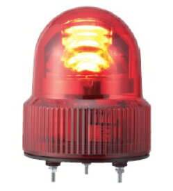 パトライト LED回転灯■型式:SKHEB-200-R■定格電圧:AC200V■色:R(赤)■電流:0.022A■閃光数:120回/分■質量:0.6kg■ブザー付回転灯