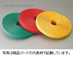 ヘラマンタイトン グリップタイGTR-GRN-N 難燃性・静電気低減タイプ色:緑色 全長:10m 幅:21.3mm 厚み:t=3.5mm