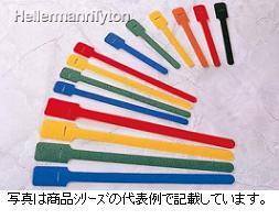 ヘラマンタイトン グリップタイGT200-B 定尺タイプ色:黒色 最大結束径:φ44.0mm 全長:197mm 幅:13.0mm1袋10本入り