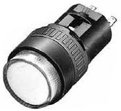 IDEC LED式小形表示灯■型式:AP6M111YPN10■定格使用電圧:DC12V■照光色:Y(黄)■形状:丸平形■発注単位:1パック(10入り)単位