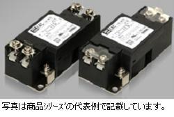 コーセル EMC対策用ノイズフィルタ■EAC-03-472-D DINレール取付タイプ●定格電圧:AC1φ250/DC250V●定格電流:3A●コンデンサ容量:4700pF