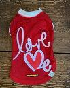 数量限定!送料無料!GEORGEジョージアウトラスト体温調節機能LOVE ME Tシャツ4号レッド