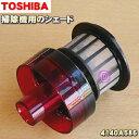 東芝掃除機用のシェード★1個【TOSHIBA 4140A586】※レッド(R)色用です。※分離ネット、サイクロンカップと底蓋の間…