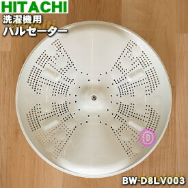 日立洗濯機用のパルセーター(トリプルビートウィング・かくはん翼)★1個【HITACHI BW-D8LV003】※本商品は製造工程上の問題で傷等が付いている場合がございますが、問題なくご利用いただけます。※ネジ・ワッシャは付属しています。【純正品・新品】【100】