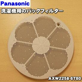 【在庫あり!】パナソニック洗濯機用のバックフィルターのみ!★1個【Panasonic AXW2258-6TB0】※ボルトは無料でお付けしております。※取付板は別売りです。【ラッキーシール対応】
