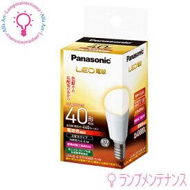 【**】【メーカー僅少在庫】パナソニック LED電球 LDA4LGE17K40ESW E17 4.4W 40W形相当 小形電球形 電球色 広配光タイプ 配光角度約180° 調光器不可 【送料80サイズ】
