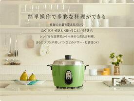 大同電鍋楽天公式販売店ー 6合 Mサイズ 外釜アルミ製(緑)