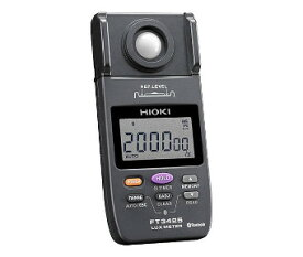 日置電機HIOKI FT3425bluetooth付照度計 LED/0LED照明の測定対応