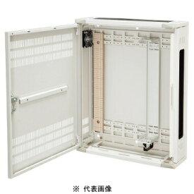 日東工業THD16-565-BFHUB収納キャビネット壁掛けボデーファン付タイプ色ペールホワイト塗装外形(W=500 h=650 D=160) mm取付ユニット2U
