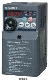 【7月 ポイント3倍】三菱電機FR-D720-11K簡単・小形インバータFREQROL-D700シリーズ 三相200V