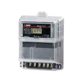 三菱電機 M2PM-R 1P3W 100V 30A 電子式電力量計 単相3線式普通電力量計 単独計器発信装置なし検定付 ※必須 周波数選定してください!