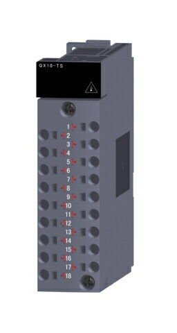 三菱電機QX10-TS汎用シーケンサMELSEC-QシリーズAC入力ユニットAC入力:16点 AC100〜120V応答時間:20ms16点1コモン 18点スプリングクランプ端子台