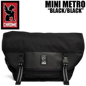 クローム バッグ ミニメトロ ブラック/ブラック/ブラックバックル CHROME MINI METRO BLACK/BLACK/BLACK BG-001-ALLB-2R-NA