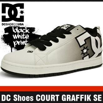 dc shoes for men low cut. genuine overseas classic shoes dc court graphic se white / black print shoes court graffik white/black and leather low cut dc for men