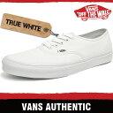 バンズ スニーカー メンズ レディース オーセンティック トゥルー ホワイト VANS AUTHENTIC TRUE WHITE EE3W00