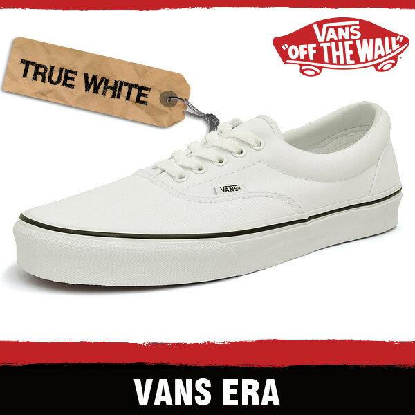 バンズ スニーカー メンズ レディース エラ トゥルー ホワイト VANS ERA TRUE WHITE EWZW00