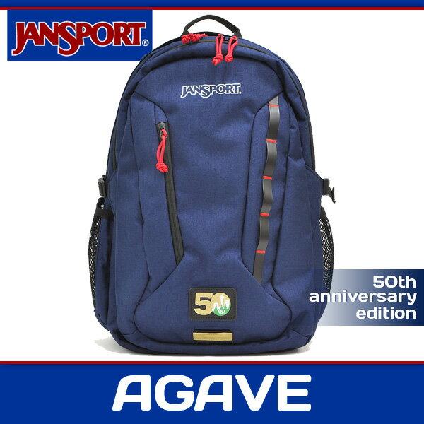 ジャンスポーツ リュック メンズ レディース アガベ 50周年 アニバーサリーエディション ネイビー JANSPORT AGAVE 50TH ANNIVERSARY EDITION NAVY JS0A2ZSU 50A