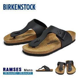 ビルケンシュトック ラムゼス トングサンダル メンズ ブラック BIRKENSTOCK RAMSES BLACK 0044791
