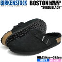 ビルケンシュトック ボストン ボア ファー サンダル メンズ レディース ブラック BIRKENSTOCK BOSTON FUR BLACK 02598…