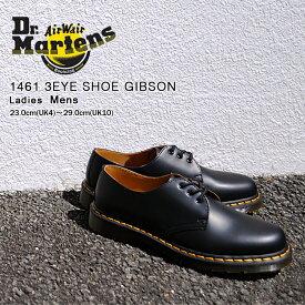 ドクターマーチン 3ホール メンズ 1461 ギブソン ブラック 黒 人気 定番 カジュアル おしゃれ レザー Dr. Martens 1461 3HOLE GIBSON BLACK 11838002