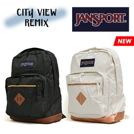 ジャンスポーツ シティビュー リミックス メンズ レディース バックパック リュック ブラック ホワイト JANSPORT CITY VIEW REMIX JS0A47LU
