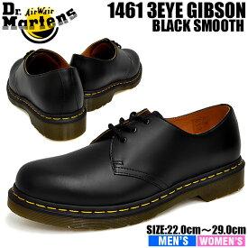 ドクターマーチン 3ホール メンズ 1461 ギブソン ブラック Dr. Martens 1461 3HOLE GIBSON BLACK 11838002
