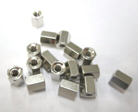 16PC 六角ナット6mm D-sub