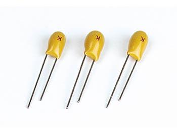タンタルコンデンサー1.5uF / 35V 2個