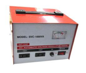 AC100V電圧安定化電源1000VASVC-1000VA