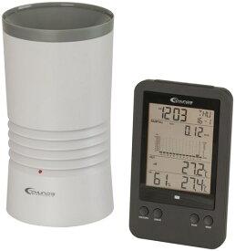 デジタルレインゲージ(雨量計)+温湿度計 XC0430