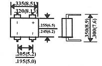 ブリッジダイオードDF-04 10本