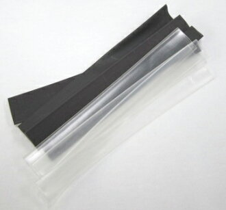 Thermal contraction tube φ 8.0-15.0mm black / transparence