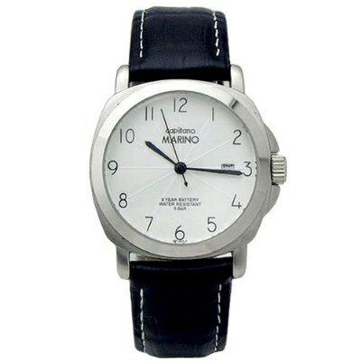 MARINOCAPITANO マリノキャピターノ 男性用腕時計 MARINO capitano (マリノキャピターノ) レザーウォッチ MC 511-1 MC511-1