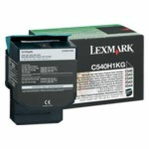 レックスマーク ブラックリターンプログラムトナーカートリッジ(大容量/2000枚) C540H1KG