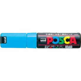 三菱鉛筆 uni 水性顔料マーカー ユニポスカ太字角芯 水 PC8K.8