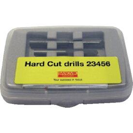 サンドビック サンドビック ハードカットドリルセット 各1個入り HC23456