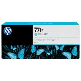 日本HP HP771B インクカートリッジ ライトシアン B6Y04A【納期目安:追って連絡】