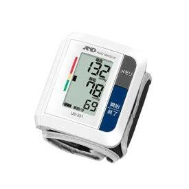 A&D 血圧管理に役立つ90データメモリ。シンプルで使いやすい手首式血圧計 UB-351【納期目安:08/上旬入荷予定】