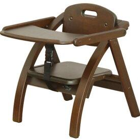 大和屋 アーチ木製ローチェア N DB(ダークブラウン) 4539066025321